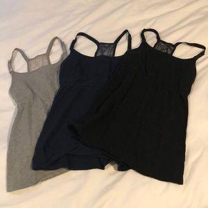Tops - Set of 3 Breastfeeding Tank Tops